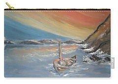 Carry-all Pouch featuring the painting Adrift by Teresa White