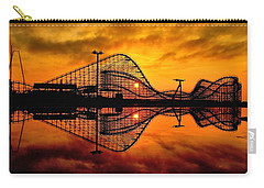 Adventure Pier At Sunrise Carry-all Pouch