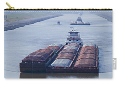 Aep Tow Passing Through The Chain Of Rocks Canal Carry-all Pouch