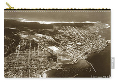 Aerial  Of Monterey Calif. Oct. 25 1934 Carry-all Pouch