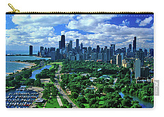 Aerial View Of Chicago, Illinois Carry-all Pouch