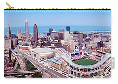 Aerial View Of Jacobs Field, Cleveland Carry-all Pouch by Panoramic Images