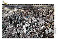 Aerial View Of London 3 Carry-all Pouch by Mark Rogan
