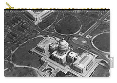 Aerial View Of U.s. Capitol Carry-all Pouch by Underwood Archives