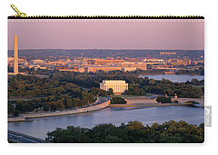 Aerial, Washington Dc, District Of Carry-all Pouch