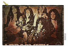 Aerosmith - Back In The Saddle Carry-all Pouch by Absinthe Art By Michelle LeAnn Scott