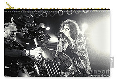 Aerosmith-steven-25 Carry-all Pouch by Timothy Bischoff