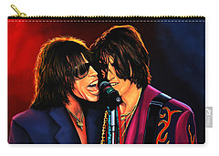 Aerosmith Toxic Twins Painting Carry-all Pouch by Paul Meijering