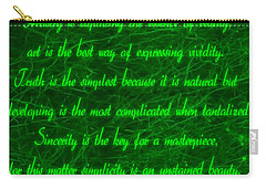 Aesthetic Quote 1 Carry-all Pouch