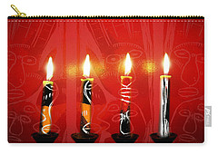 African Candles Carry-all Pouch