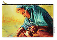 African Chai Tea Lady. Carry-all Pouch