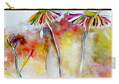 African Daisy Abstract Carry-all Pouch
