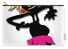 Carry-all Pouch featuring the digital art African Dancer 4 by Marvin Blaine