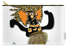 Carry-all Pouch featuring the digital art African Dancer 6 by Marvin Blaine