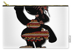 Carry-all Pouch featuring the digital art African Dancer 7 by Marvin Blaine