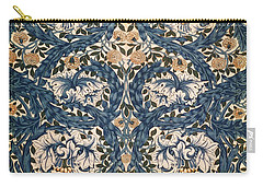 African Marigold Design Carry-all Pouch by William Morris