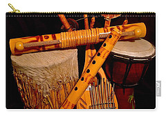 African Musical Instruments Carry-all Pouch