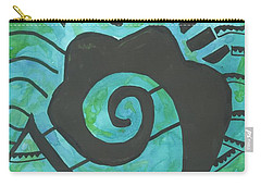 African Question Mark Carry-all Pouch