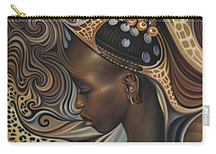African Woman Carry-All Pouches