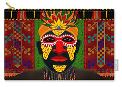 African Tribesman 1 Carry-all Pouch
