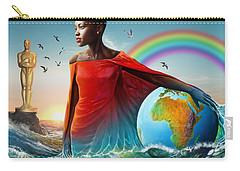 The Lupita Tsunami Carry-all Pouch by Anthony Mwangi