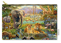 African Watering Hole Carry-all Pouch