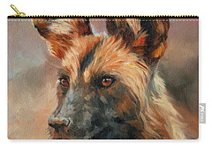 African Wild Dog Carry-all Pouch