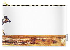 Endangered African Wild Dog - Original Artwork Carry-all Pouch
