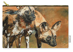 African Wild Dogs Carry-all Pouch