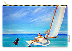 After Hopper- Sailing Carry-all Pouch