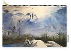 After Rain -on The Michigan Ave. Saline Michigan Carry-all Pouch