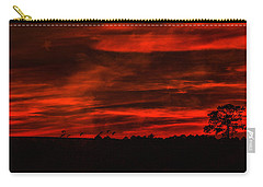 After Sunset Sky Carry-all Pouch