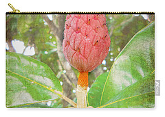 Carry-all Pouch featuring the photograph After The Flower by Judy Hall-Folde