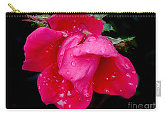 Carry-all Pouch featuring the photograph After The Rain by Mariarosa Rockefeller