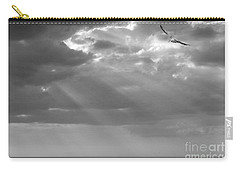 Carry-all Pouch featuring the photograph After The Storm by Mariarosa Rockefeller