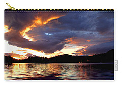 Carry-all Pouch featuring the photograph After The Storm by Peggy Collins