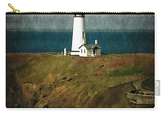 Afternoon At The Yaquina Head Lighthouse Carry-all Pouch