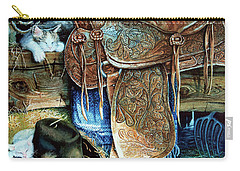 Carry-all Pouch featuring the painting Afternoon Delight by Hanne Lore Koehler