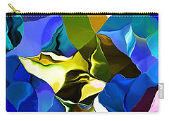 Carry-all Pouch featuring the digital art Afternoon Doodle 020215 by David Lane