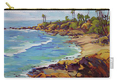 Afternoon Glow 2 /laguna Beach Carry-all Pouch