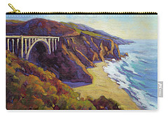 Afternoon Glow 3 Big Sur Carry-all Pouch