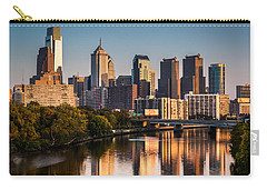 Afternoon In Philly Carry-all Pouch