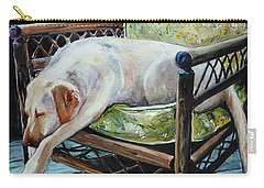 Afternoon Nap Carry-all Pouch by Molly Poole