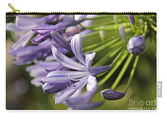Agapanthus Flower Close-up Carry-all Pouch