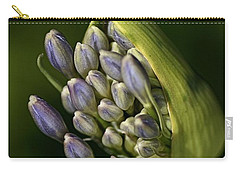 Carry-all Pouch featuring the photograph Agapanthus by Joy Watson