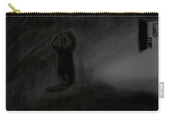 Agony Of The Outside World 1 Carry-all Pouch by Paulo Guimaraes
