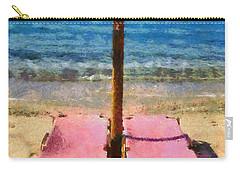 Agrari Beach In Mykonos Island Carry-all Pouch