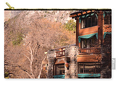 Ahwahnee And Yosemite Falls Carry-all Pouch
