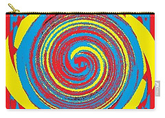 Aimee Boo Swirled Carry-all Pouch by Catherine Lott