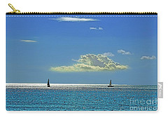 Carry-all Pouch featuring the photograph Air Beautiful Beauty Blue Calm Cloud Cloudy Day by Paul Fearn